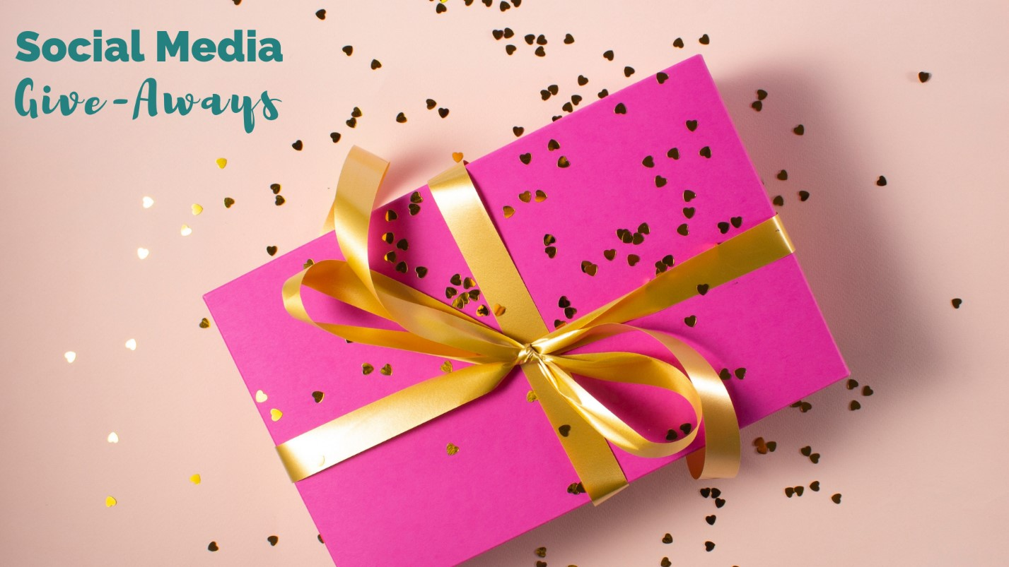 give away prizes are part of of a social media engagement strategy
